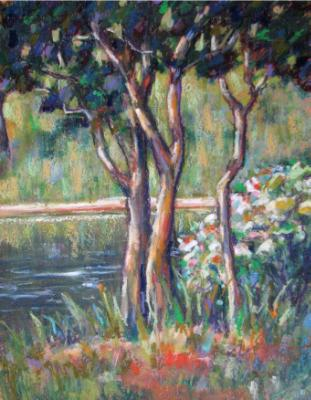 """""""By the Pond"""" - SOLD"""