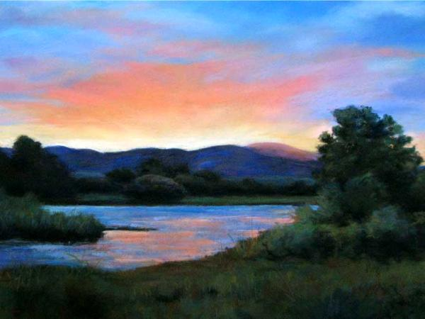 """""""Evening Glow"""" - SOLD"""