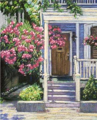 """""""The Blue Porch"""" - SOLD"""