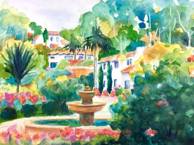 Courtyard Fountain - Sold
