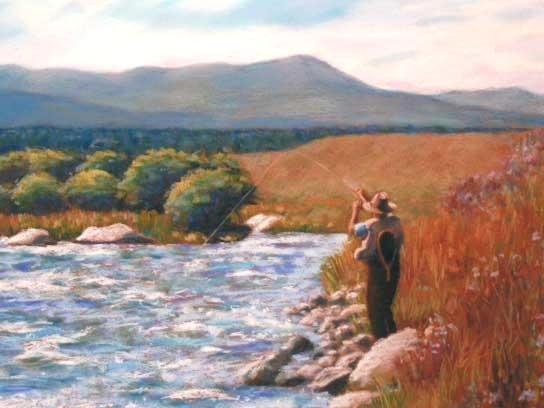 """""""Madison River"""" - SOLD"""