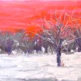January Sunset - SOLD