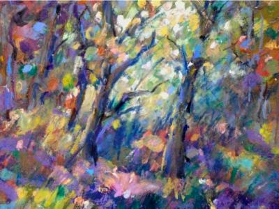 """""""In the Woods"""" - SOLD"""