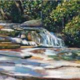 """""""Wooded Stream"""" - SOLD"""