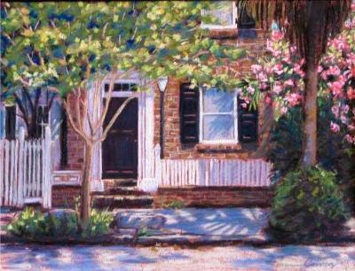 """""""White Picket Fence"""" - SOLD"""